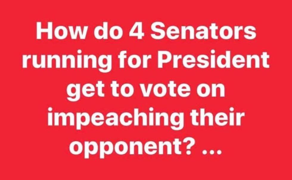 senators impeach