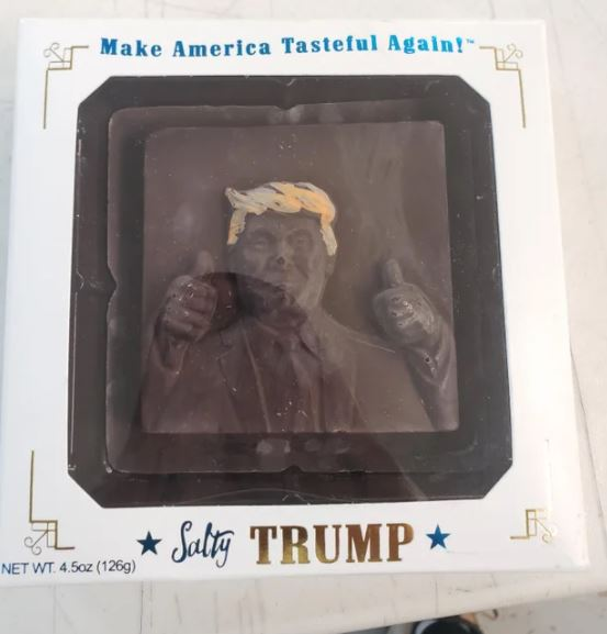 trump chocolate