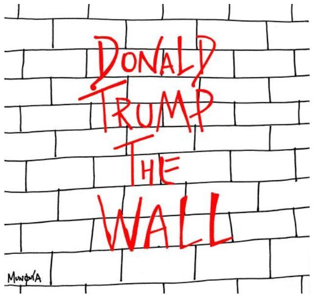 trump the wall