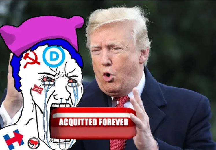 acquitted trump red pill