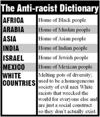 anti racist dictionary