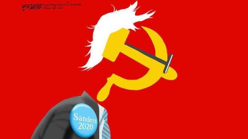 bernie communist