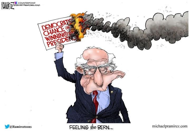 bernie sanders democrat fire