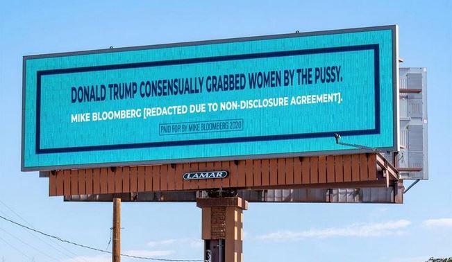 bloomberg ad trump billboard