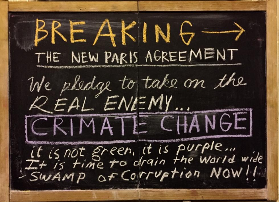 chalk climate change