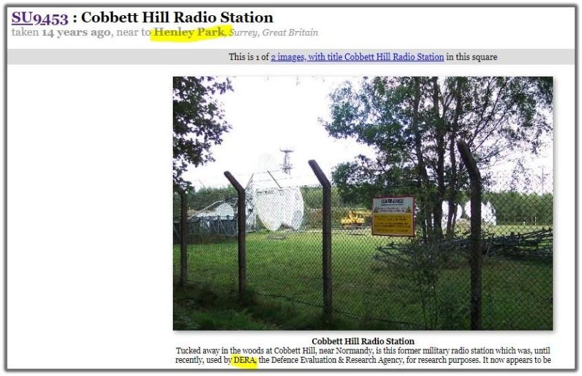 cobbett hill radio station