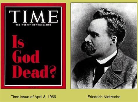god is dead nietzsche