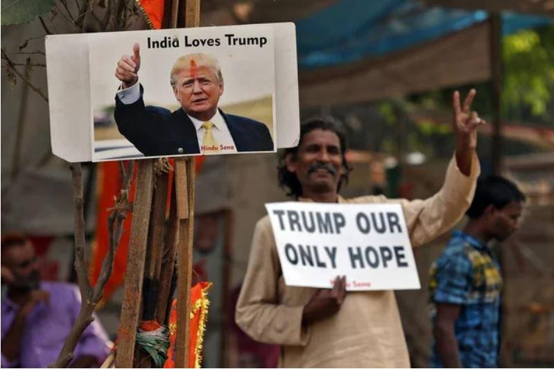 india loves trump