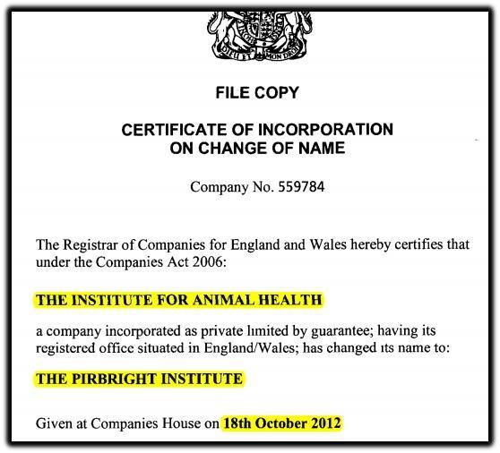 institute for animal health