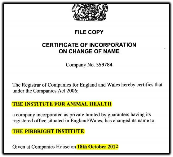institute for animal health
