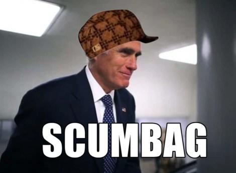 romney scumbag