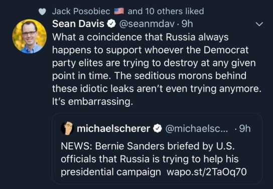 sanders russia democrats