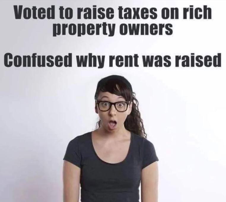 taxes left