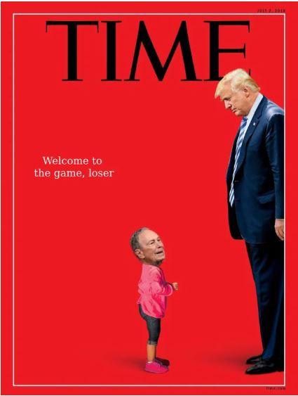 time magazine trump bloomberg