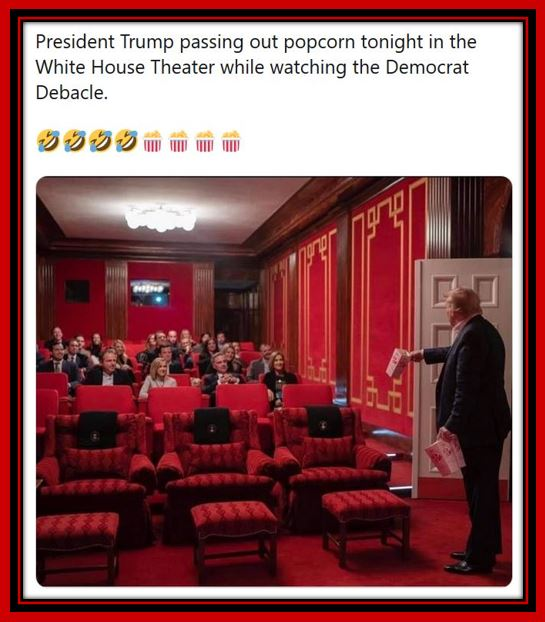 trump popcorn