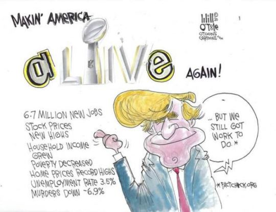 trump success
