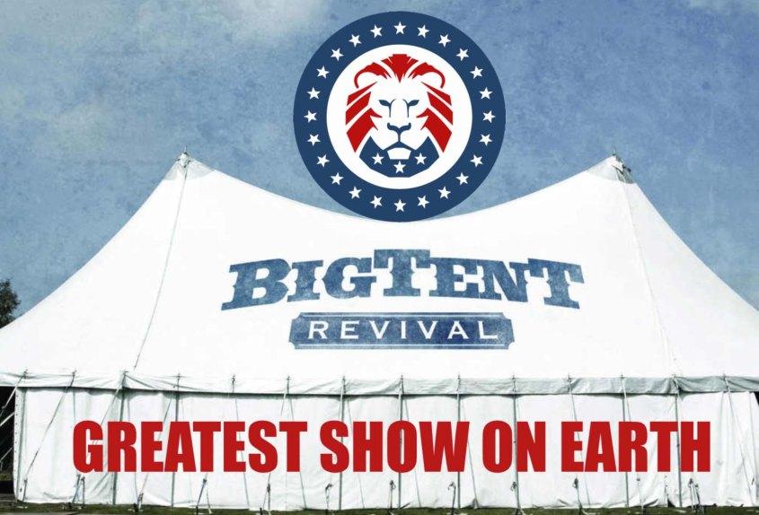 trump tent revival
