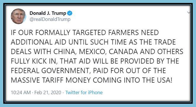 tt farmers tariff