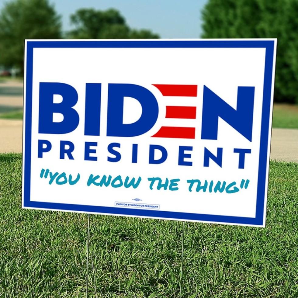 biden the thing