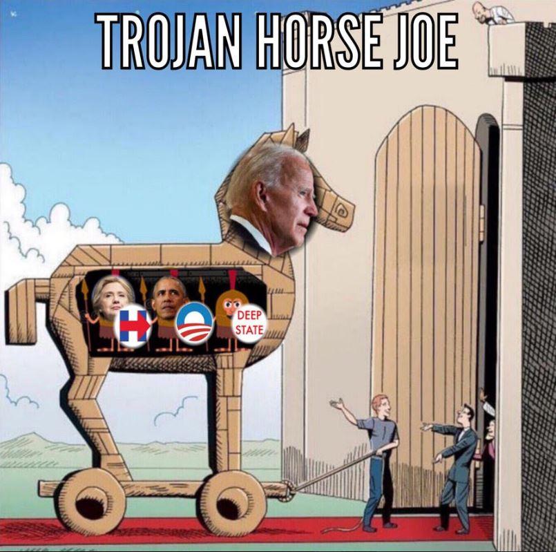 biden trojan horse