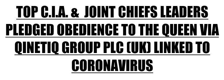 CIA Queen coronavirus