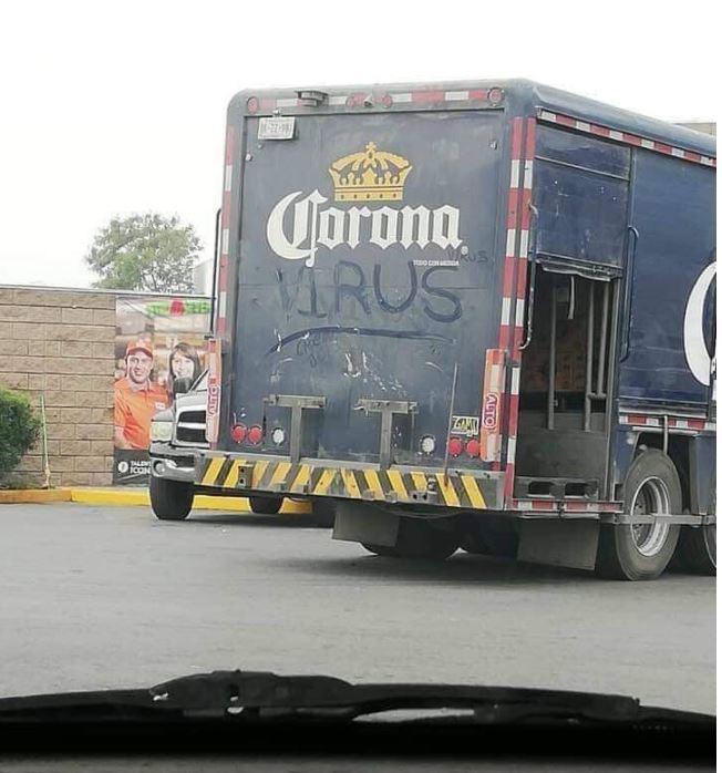 CORONA VIRUS TRUCK