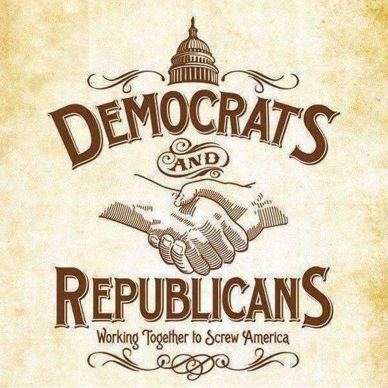 democrat republicans uniparty