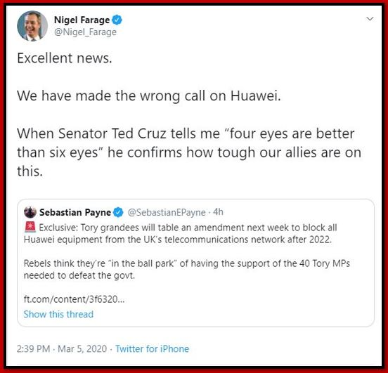 five eyes farage