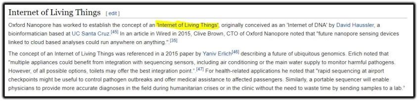 internet living things