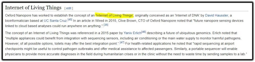 internet living things