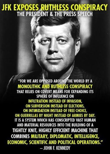john kennedy quote federal reserve