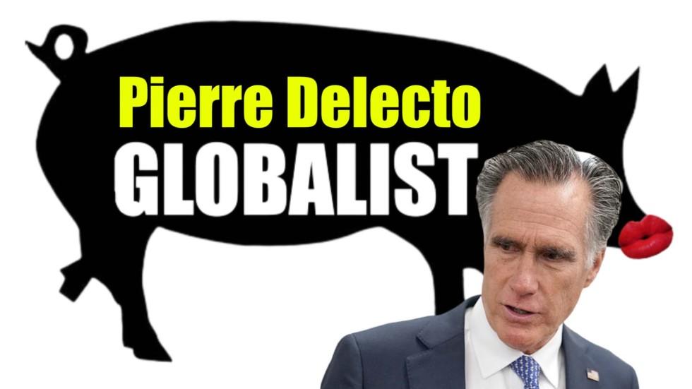 mitt romney globalist pig