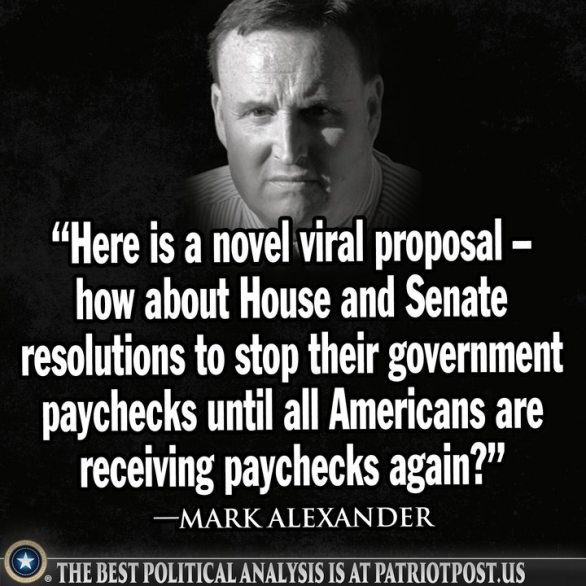 no pay for congress