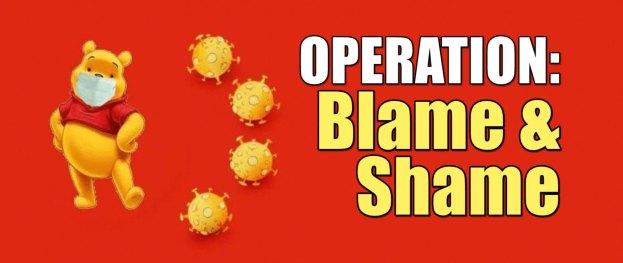 operation blame shame china coronavirus
