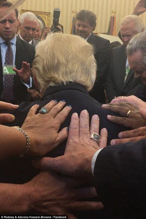 pray for trump