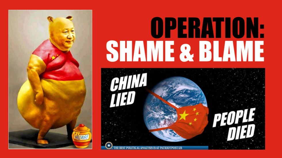 shame and blame china xi
