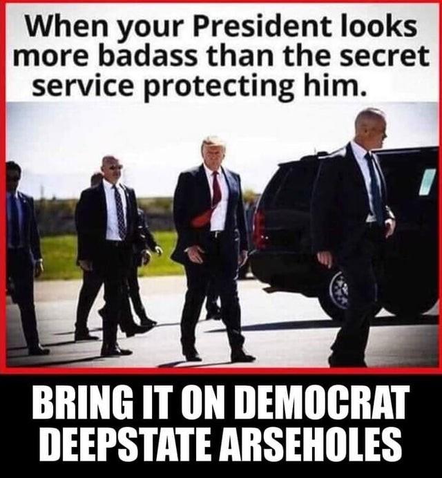 trump bad ass