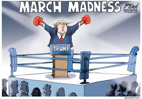 trump march madness
