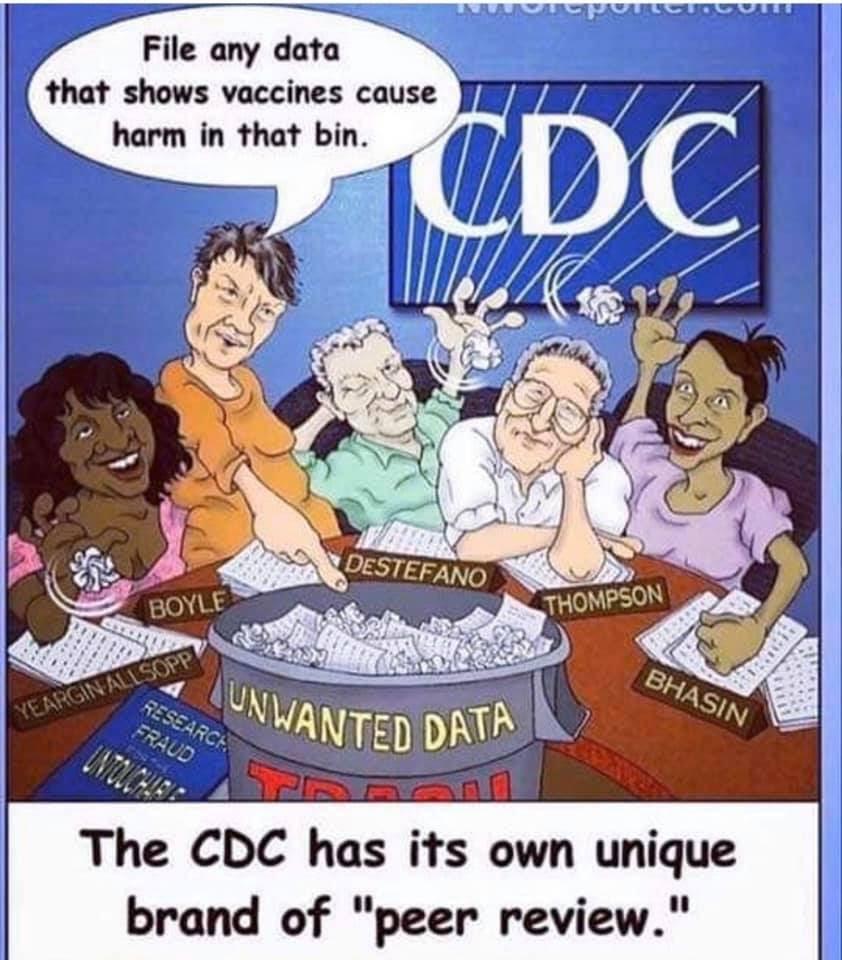 CDC vaccine court