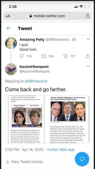 polly tweet
