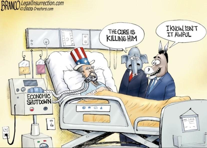 Uncle Sam coronavirus